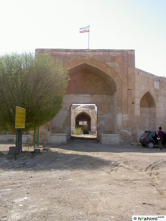 Ghasr-e Bahram entrance