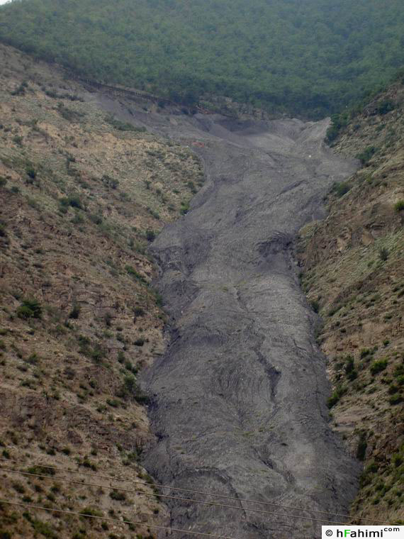 coal mine in Alaasht road