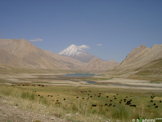 openning of Laar lake  and Damavand summit I