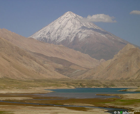 openning of Laar lake  and Damavand summit