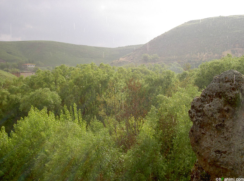 Vila valley, around Sarein, Ardabil