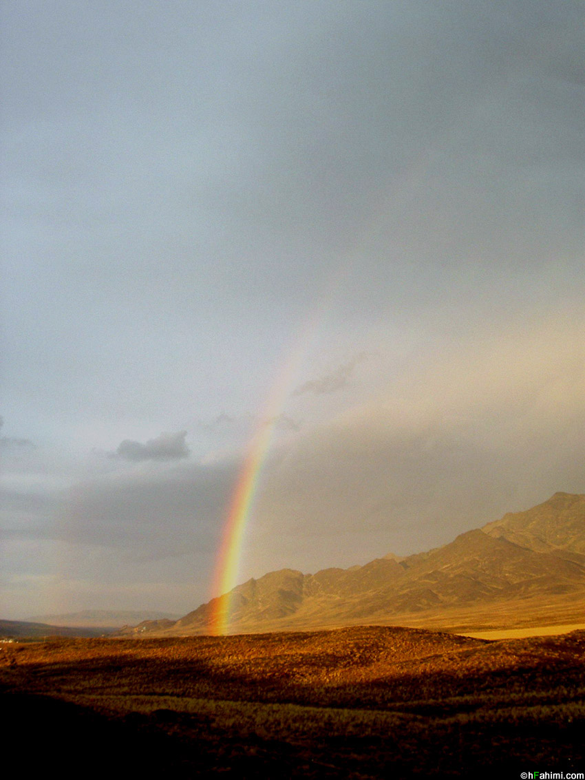 Rainbow, Around Arak ( Arak - Qom Road ) II