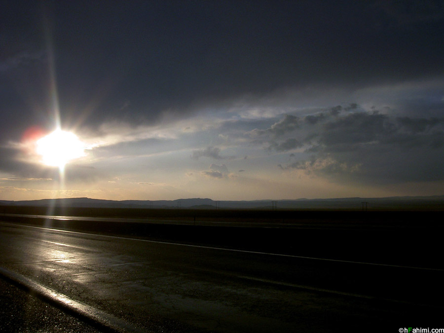 Sunset ( Arak - Qom Road ) III