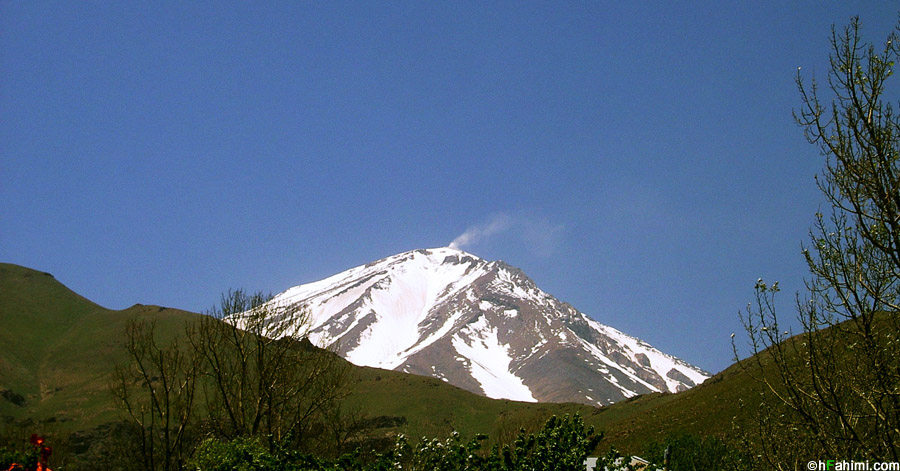 Damavand summit, Larijan, Iran