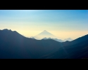 damavand and central alborz in haze